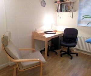 cliffe clinic lewes therapy room